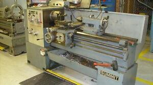 "Looking for Summit metal lathe - 14"" or similar size"