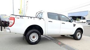 2011 Ford Ranger PX XL Double Cab 4x2 White 6 Speed Automatic Dual Cab Woodridge Logan Area Preview