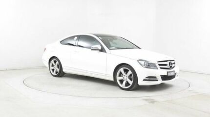2013 Mercedes-Benz C250 W204 MY12 CDI BE White 7 Speed Automatic G-Tronic Coupe