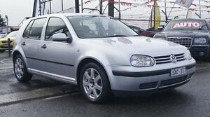 2002 Volkswagen Golf GL Silver 5 Speed Manual Hatchback Brooklyn Brimbank Area Preview