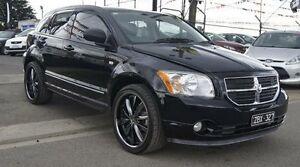 2012 Dodge Caliber PM MY12 SXT Black 6 Speed CVT Auto Sequential Hatchback Brooklyn Brimbank Area Preview