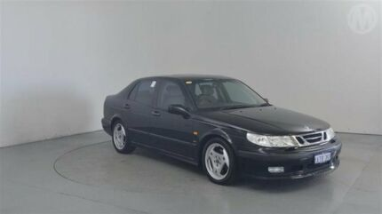 2000 Saab 9-5 Aero Black 4 Speed Automatic Sedan Perth Airport Belmont Area Preview