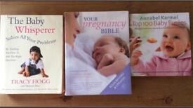 Bundle of Books for future mum.