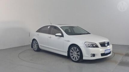 2013 Holden Caprice WN V Heron White 6 Speed Auto Active Sequential Sedan Perth Airport Belmont Area Preview