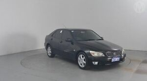 2000 Lexus IS200 GXE10R Sports Luxury Black 4 Speed Automatic Sedan Perth Airport Belmont Area Preview