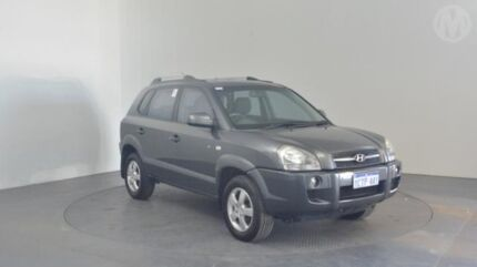 2007 Hyundai Tucson JM MY07 City SX Charcoal Grey 5 Speed Manual Wagon Perth Airport Belmont Area Preview