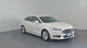 2015 Ford Mondeo MD Trend SelectShift Diamond White 6 Speed Sports Automatic Hatchback Perth Airport Belmont Area Preview