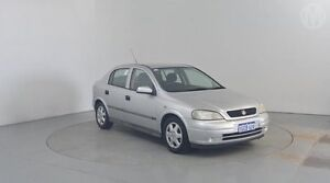 2000 Holden Astra TS CD Star Silver 5 Speed Manual Hatchback Perth Airport Belmont Area Preview