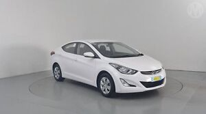 2014 Hyundai Elantra MD Series 2 (MD3) Active White 6 Speed Automatic Sedan Perth Airport Belmont Area Preview