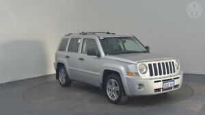 2007 Jeep Patriot MK MY2007 Limited CVT Auto Stick Bright Silver 6 Speed Constant Variable Wagon Perth Airport Belmont Area Preview