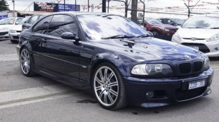 2002 BMW M3 E46 Blue 6 Speed Sequential Manual Coupe Brooklyn Brimbank Area Preview
