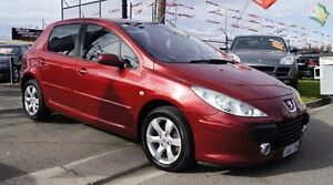 2006 Peugeot 307 MY06 Upgrade XS HDI 1.6 Burgundy 5 Speed Manual Hatchback Brooklyn Brimbank Area Preview