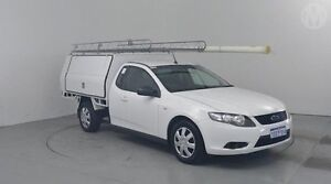 2010 Ford Falcon FG Super Cab Winter White 4 Speed Sports Automatic Cab Chassis Perth Airport Belmont Area Preview