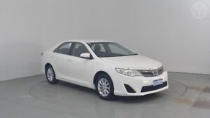 2013 Toyota Camry ASV50R Altise Diamond White 6 Speed Sports Automatic Sedan Perth Airport Belmont Area Preview