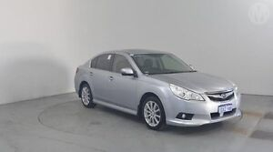 2012 Subaru Liberty B5 MY12 2.5i Lineartronic AWD Premium Ice Silver 6 Speed Constant Variable Sedan Perth Airport Belmont Area Preview