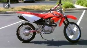 Looking for a used 75cc dirt bike