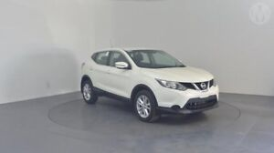 2016 Nissan Qashqai J11 ST White Continuous Variable Wagon Perth Airport Belmont Area Preview