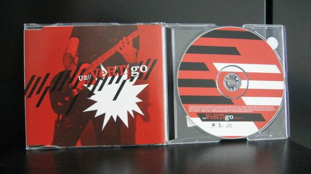 U2 - Vertigo 2 Track CD Single