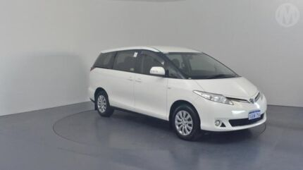 2014 Toyota Tarago ACR50R MY13 GLi Glacier White 7 Speed CVT Auto Sequential Wagon Perth Airport Belmont Area Preview