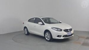 2013 Renault Fluence L38 Phase 2 Privilege Pearl White 6 Speed Constant Variable Sedan Perth Airport Belmont Area Preview