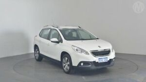 2015 Peugeot 2008 Active White 4 Speed Automatic Wagon Perth Airport Belmont Area Preview