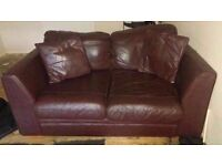 3&2 sofa & glass tv stand & much more