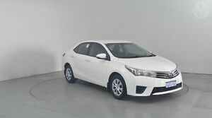 2014 Toyota Corolla ZRE172R Ascent S-CVT White 7 Speed Constant Variable Sedan Perth Airport Belmont Area Preview