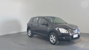 2008 Nissan Dualis J10 TI (4x4) Pearl Black 6 Speed CVT Auto Sequential Wagon Perth Airport Belmont Area Preview
