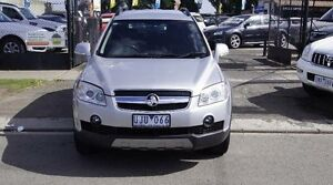 2006 Holden Captiva CG LX (4x4) Silver 5 Speed Automatic Wagon Brooklyn Brimbank Area Preview