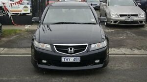 2005 Honda Accord MY05 Upgrade Euro Luxury Black 5 Speed Sequential Auto Sedan Brooklyn Brimbank Area Preview