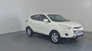 2011 Hyundai ix35 LM MY11 Active (FWD) Vanilla White 6 Speed Automatic Wagon Perth Airport Belmont Area Preview