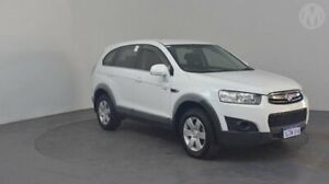 2012 Holden Captiva CG Series II 7 SX Summit White 6 Speed Sports Automatic Wagon Perth Airport Belmont Area Preview