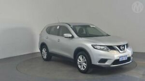 2016 Nissan X-Trail T32 ST (4x4) Brilliant Silver Continuous Variable Wagon Perth Airport Belmont Area Preview