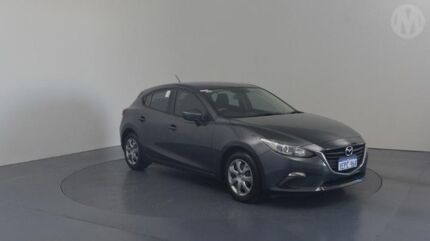 2014 Mazda 3 BM Neo Meteor Grey 6 Speed Automatic Hatchback Perth Airport Belmont Area Preview