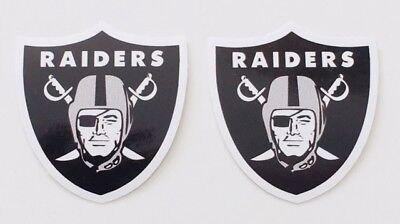 2X Oakland Raiders Car Bumper Laptop Phone Wall Vinyl Die Cut Sticker Decal
