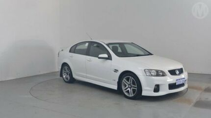 2013 Holden Commodore VE II MY12.5 SV6 Heron White 6 Speed Sports Automatic Sedan Perth Airport Belmont Area Preview