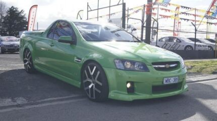 2007 Holden Commodore VE SS-V Green 6 Speed Automatic Utility Brooklyn Brimbank Area Preview