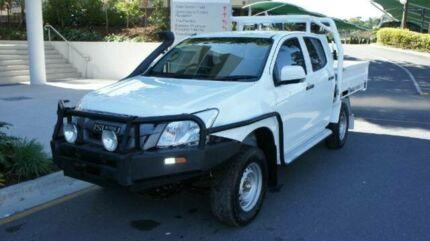 2012 Isuzu D-MAX MY12 SX Crew Cab White 5 SPEED Manual Albion Brisbane North East Preview
