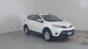 2014 Toyota RAV4 ALA49R MY14 GX AWD Glacier White 6 Speed Sports Automatic Wagon Perth Airport Belmont Area Preview