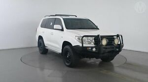 2011 Toyota Landcruiser VDJ200R 09 Upgrade GXL (4x4) Glacier White 6 Speed Automatic Wagon Eagle Farm Brisbane North East Preview