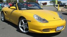 2005 Porsche Boxster 986 S Yellow 5 Speed Manual Roadster Hillman Rockingham Area Preview
