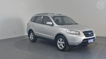 2007 Hyundai Santa Fe CM MY07 Upgrade SX (FWD) Sleek Silver 5 Speed Automatic Wagon Perth Airport Belmont Area Preview
