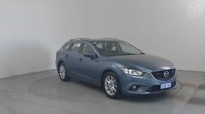 2013 Mazda 6 GJ1031 Sport SKYACTIV-Drive Blue 6 Speed Sports Automatic Wagon Perth Airport Belmont Area Preview