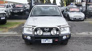 2011 Nissan Navara D40 RX (4x4) Silver 6 Speed Manual KING CCHAS Brooklyn Brimbank Area Preview