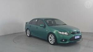2012 Ford Falcon FG Upgrade XR6 Green 6 Speed Auto Seq Sportshift Sedan Perth Airport Belmont Area Preview