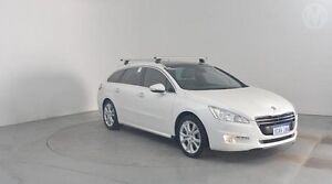 2012 Peugeot 508 Allure Touring HDi White 6 Speed Sports Automatic Wagon Perth Airport Belmont Area Preview