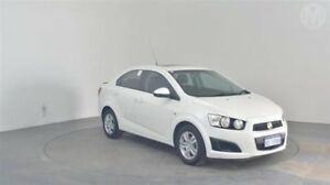 2012 Holden Barina TM MY13 CD Olympic White 6 Speed Automatic Sedan Perth Airport Belmont Area Preview