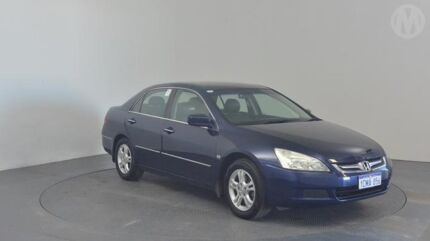 2006 Honda Accord 7th Gen MY06 VTi Royal Blue 5 Speed Automatic Sedan Perth Airport Belmont Area Preview
