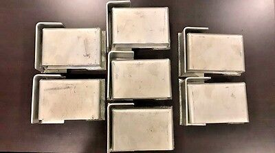 Lot Of 7 - Cargo Container High Security Lock Box Weld On Free Shipping