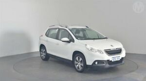 2015 Peugeot 2008 Active Bianca White 4 Speed Automatic Wagon Perth Airport Belmont Area Preview